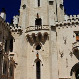 Vyhlídková věž zámku Hluboká nad Vltavou