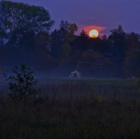 Měsíc nad Sluneční horou