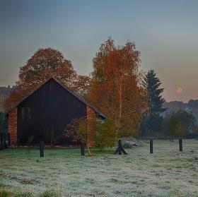 Podzimní mrazivé ráno