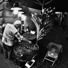 Prodavač kaštanů