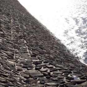 Plumlovská přehrada hráz