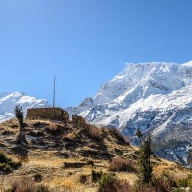 Život pod Annapurnou II