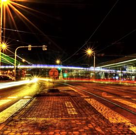 Noční ruch v Olomouci