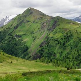 Vyhlídka z Passo Giau, Dolomity