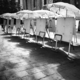 Ráno na Placa De Sant Josep