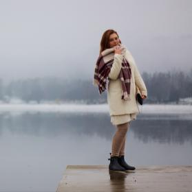 Focení se zimní krajinou