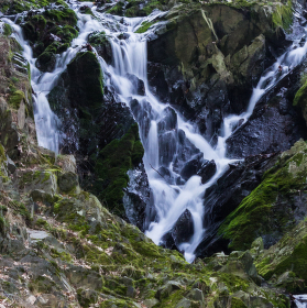 Průhonický vodopád