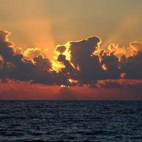 Východ Slunce na Sri Lance