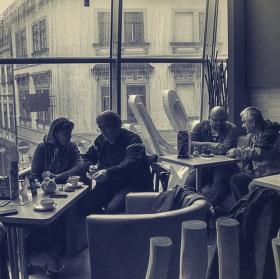 Kavárenské výhledy.