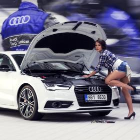 Eva opravářka aut