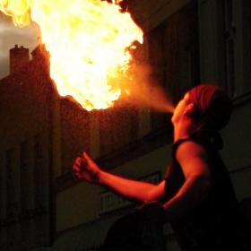 Ohnivá noc v Polné