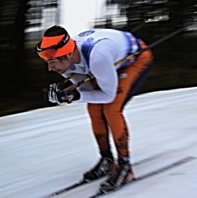 Neznámí běžkař na českém poháru v NMNM
