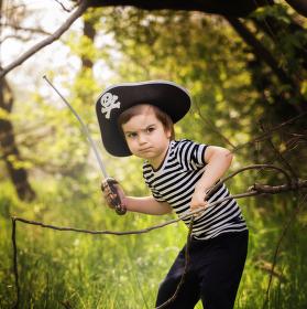 Pirát v divočine :)