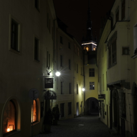 Posilvestrovské toulky uličkami noční Olomouci