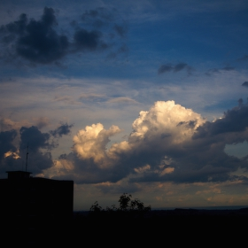 30 Day photo challenge- 1. Clouds