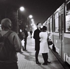 Pár na zastávce