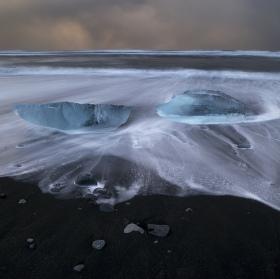 Islandská pláž