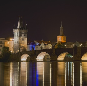Karlův most a Staroměstská mostecká věž II