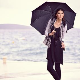 obchodnice s deštěm