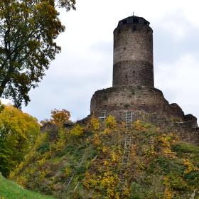 Podzim na hradě Hasištejn