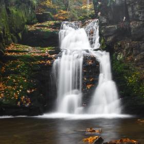 Rešovské vodopády III