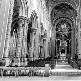 Kostol sv.Cyrila a Metoda v Prahe.