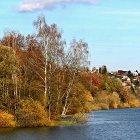 loučení s podzimem