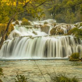 Ještě jedna z Národního parku Krka