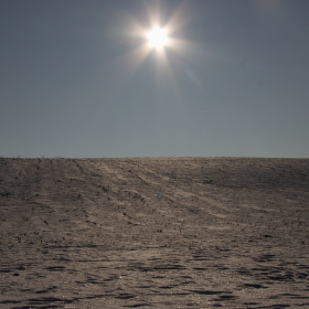 Když je pole pod sněhem