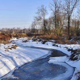 Petrůvka v zimě