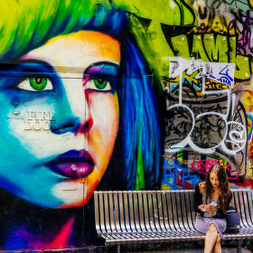 Melbourne Graffiti I.