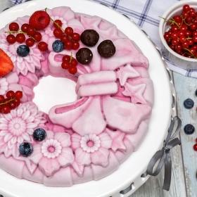 Nepečená ovocná torta