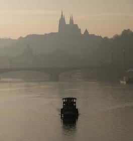 Pražský podvečer
