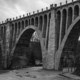 Krnsko - železniční viadukt