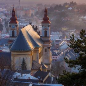 Výhled na Šternberk