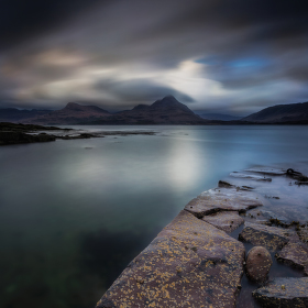 Scotland Sunset - Inveralligin