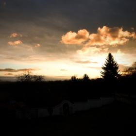 svítání v Žatci