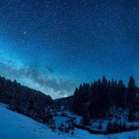 Soutok Mléčné Dráhy s Křemelnou