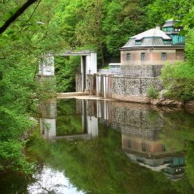 Vodní brána na Jizeře