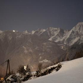 noční horská