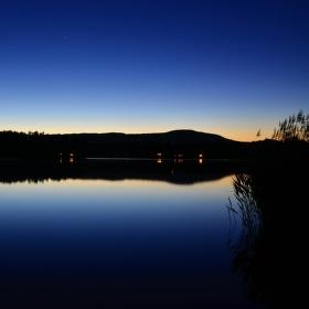 Večer u Milčanského rybníka