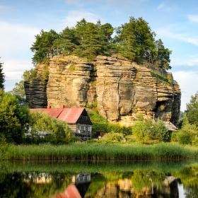 Skalní hrad-Sloup v Čechách