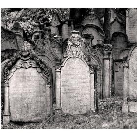 Židovský hřbitov...