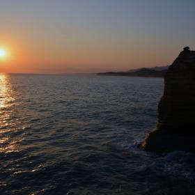 Východ slunce Sever Korfu