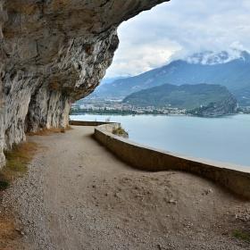 Lago di Garda -Ponale , na bike do Pregasiny