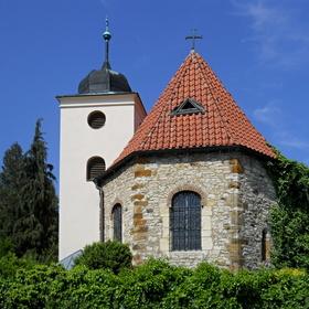 LEVÝ HRADEC nejstarší křesťanský kostel v Čechách