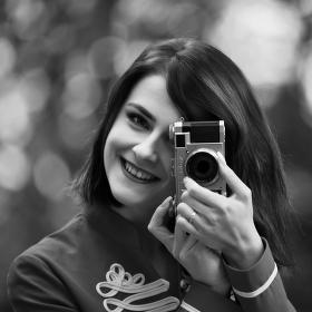 Nadšená fotografka