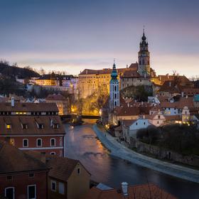 Českokrumlovská podvečerní