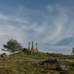 Tři křížky ve Slavkovském lese