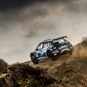 David Bogie -Pirelli International rally 2017